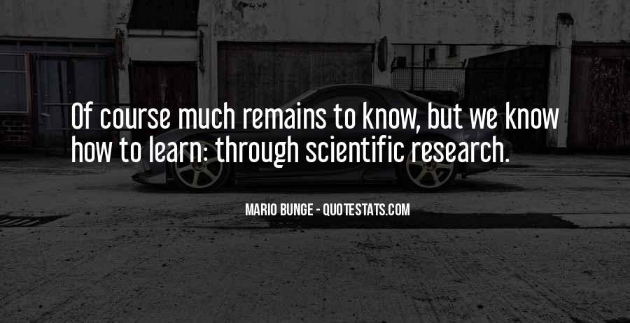 Quotes About Scientific Research #318614