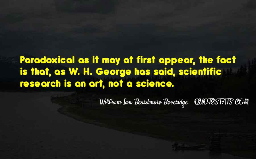 Quotes About Scientific Research #514669