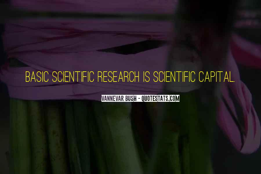 Quotes About Scientific Research #515797