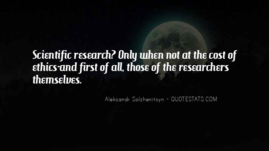 Quotes About Scientific Research #82916