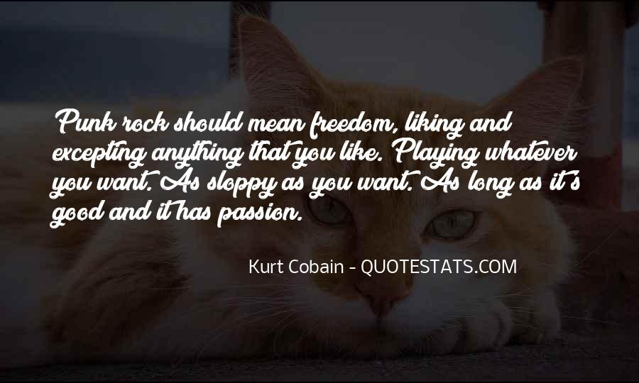 Cobain's Quotes #102223