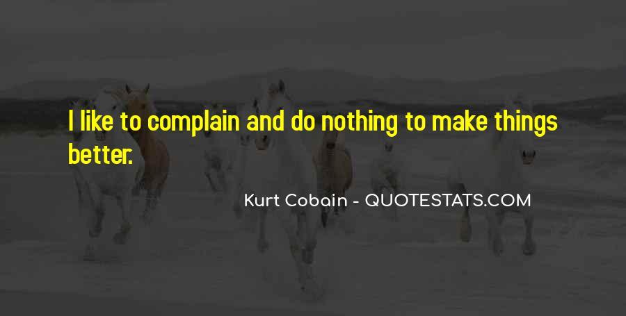 Cobain's Quotes #109968