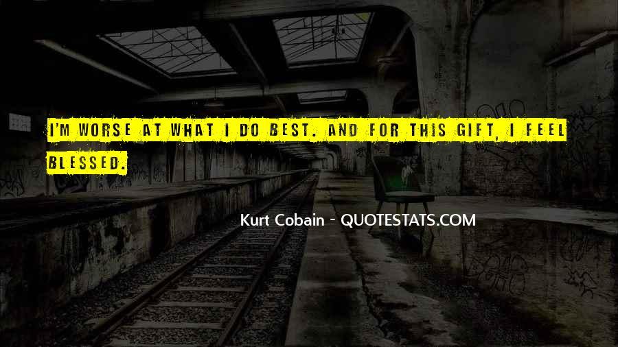 Cobain's Quotes #143964