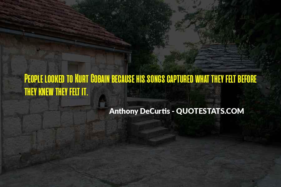 Cobain's Quotes #154340