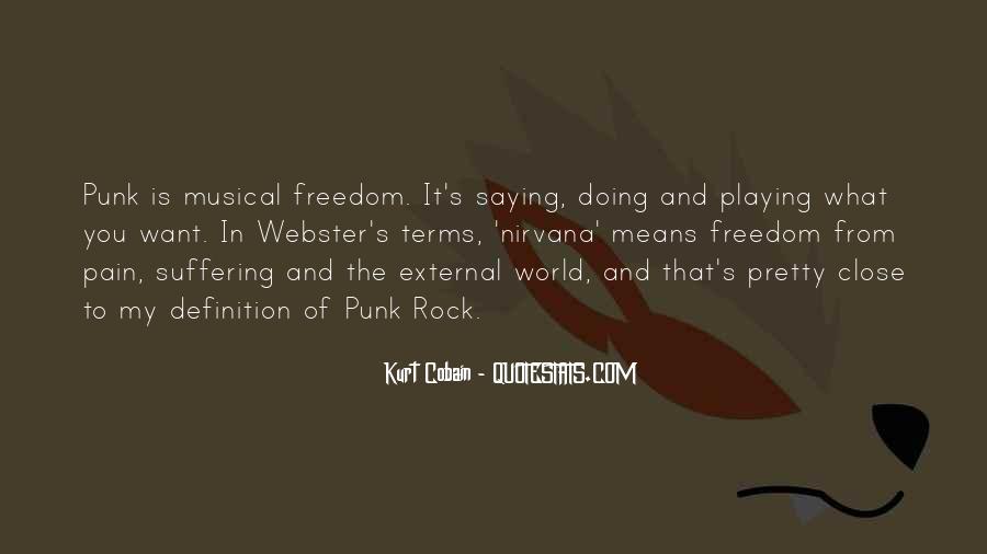 Cobain's Quotes #1554605