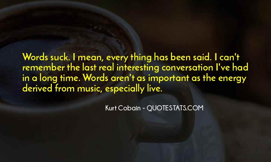 Cobain's Quotes #156956