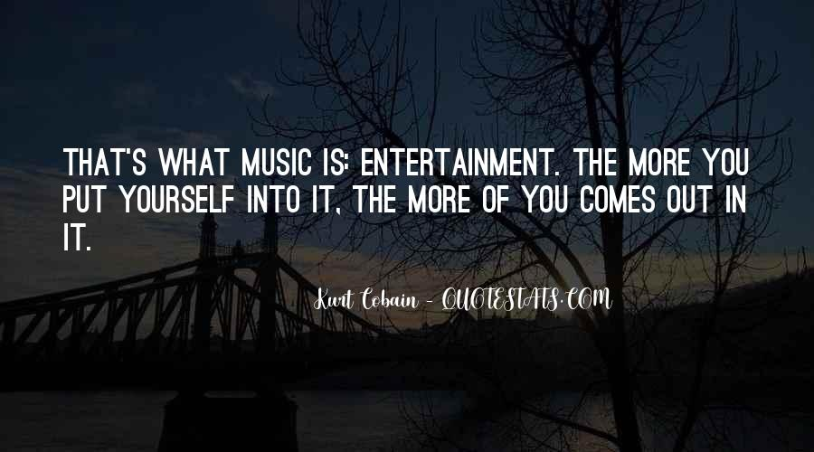Cobain's Quotes #1573367