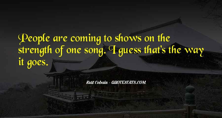 Cobain's Quotes #232912