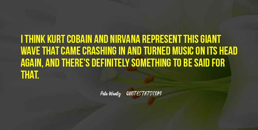 Cobain's Quotes #267838