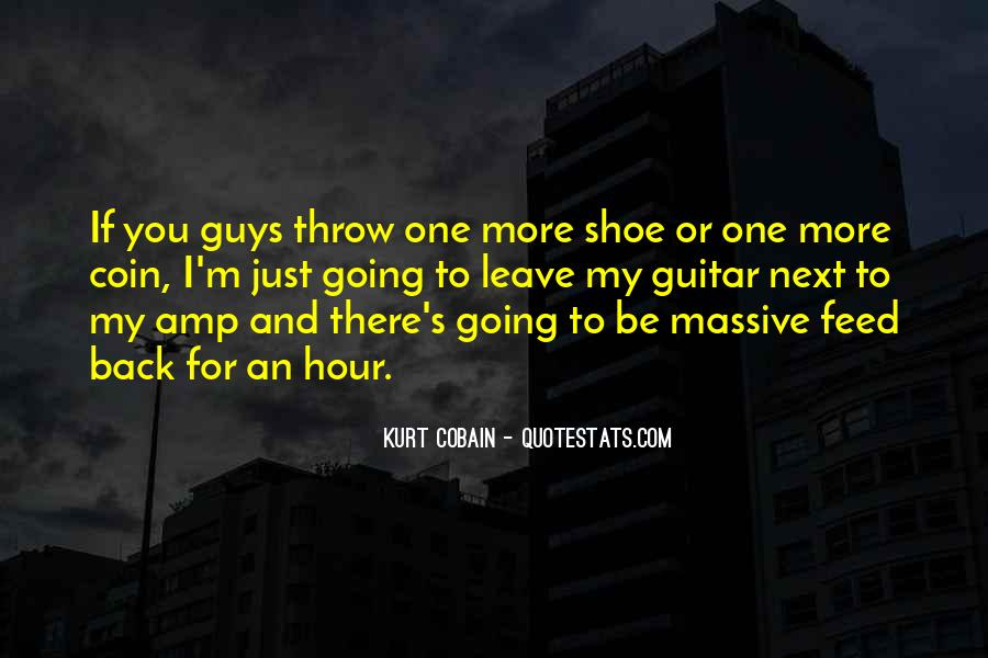 Cobain's Quotes #277794