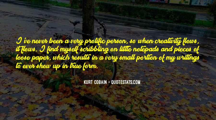 Cobain's Quotes #47404