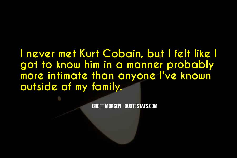 Cobain's Quotes #6038