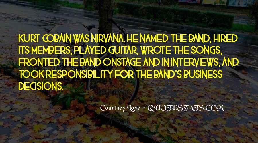 Cobain's Quotes #949362