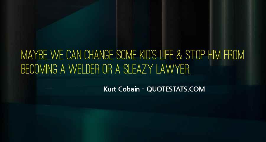 Cobain's Quotes #972866