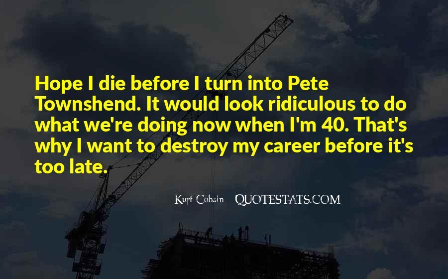 Cobain's Quotes #989336