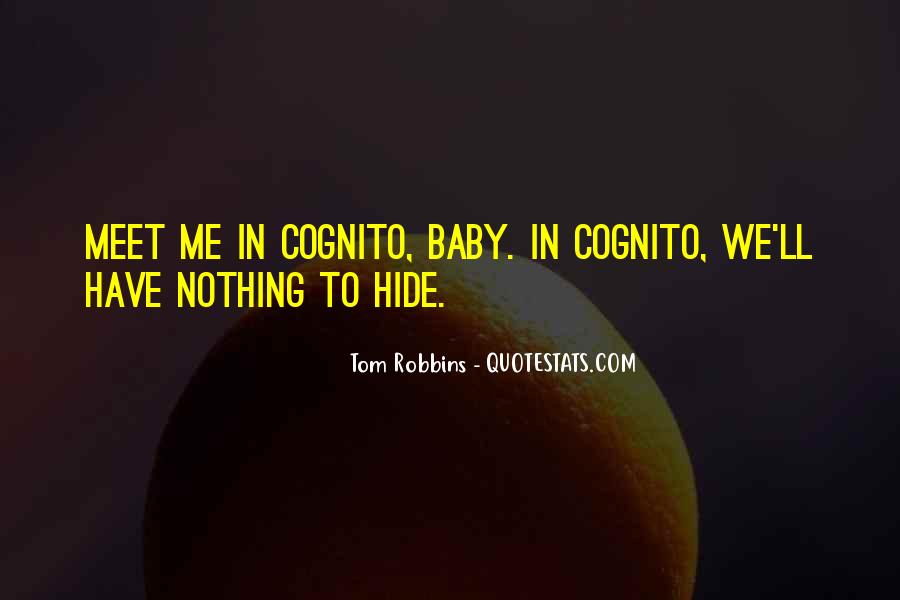 Cognito Quotes #1337279