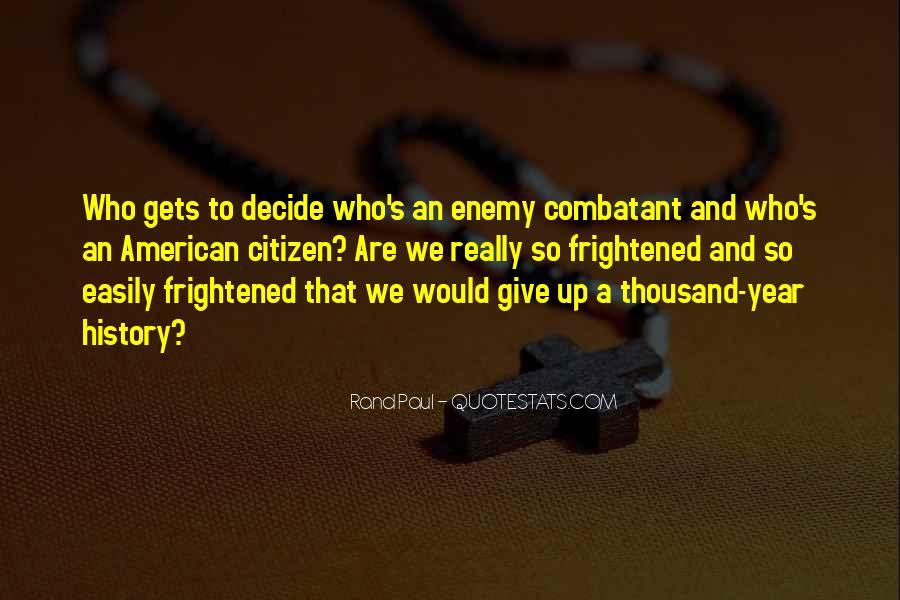 Combatant Quotes #523064