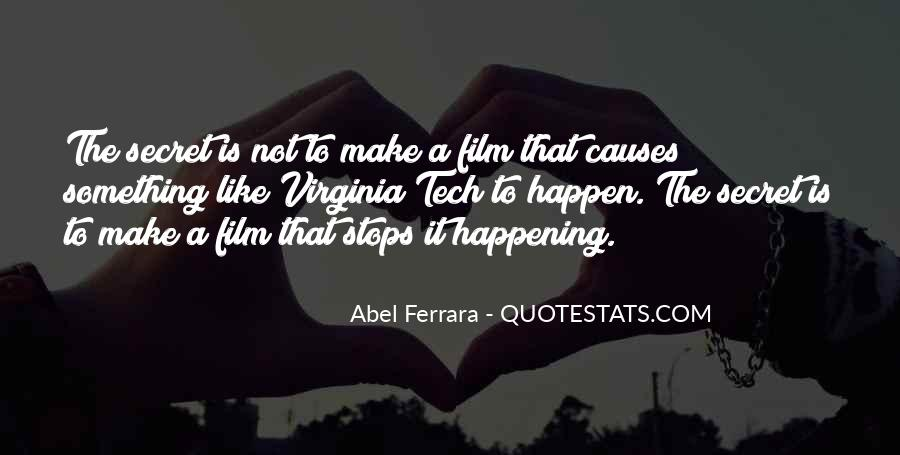 Quotes About Something Not Happening #1481790