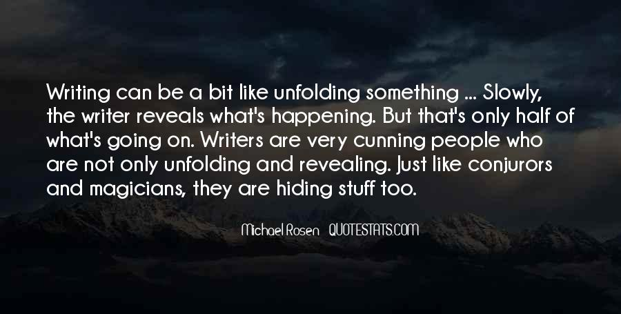 Quotes About Something Not Happening #820974