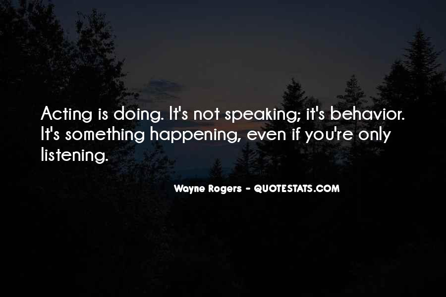 Quotes About Something Not Happening #909426
