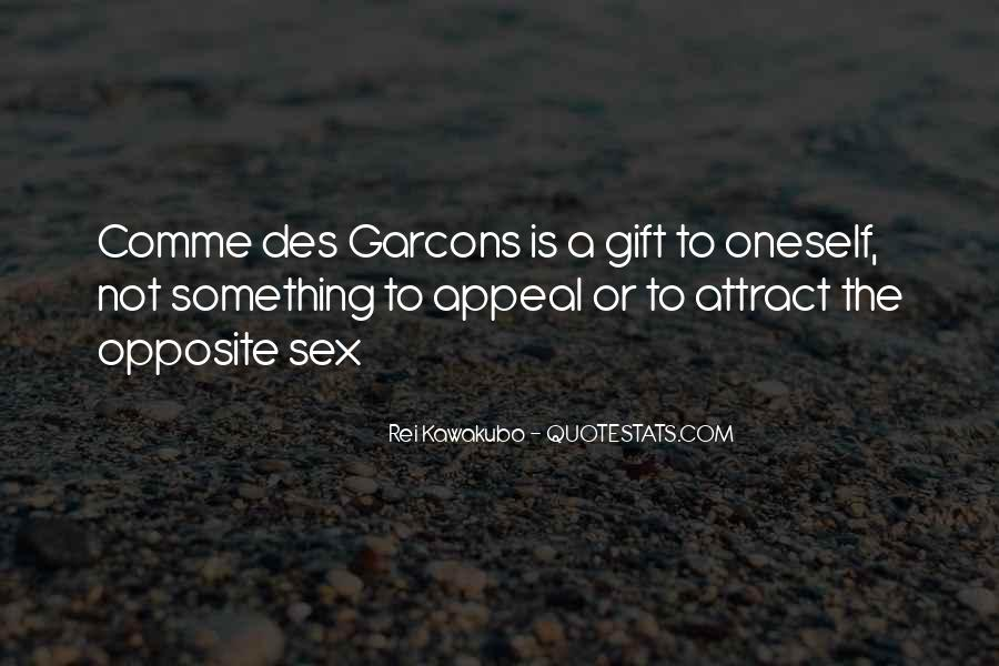 Comme Quotes #360069