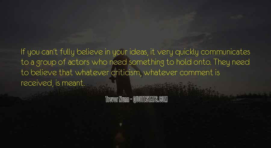 Communicates Quotes #1049212