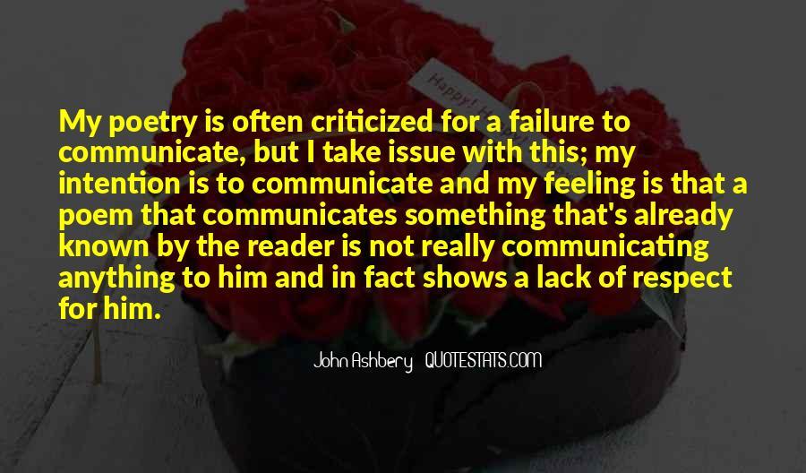 Communicates Quotes #1309394