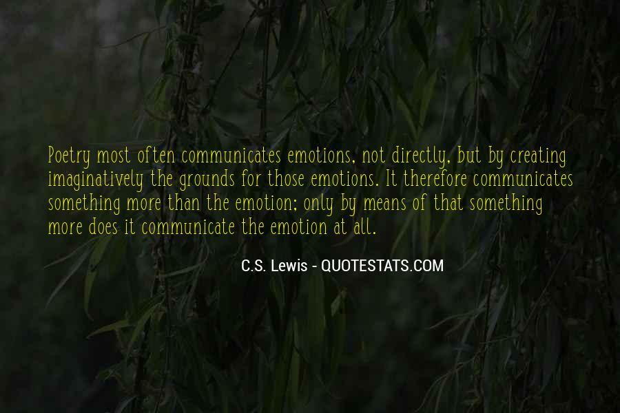 Communicates Quotes #38974