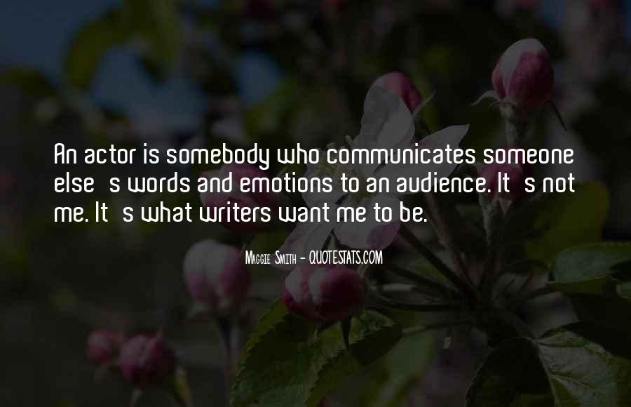 Communicates Quotes #521631