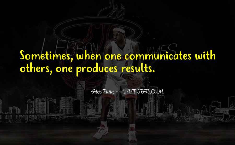 Communicates Quotes #688394