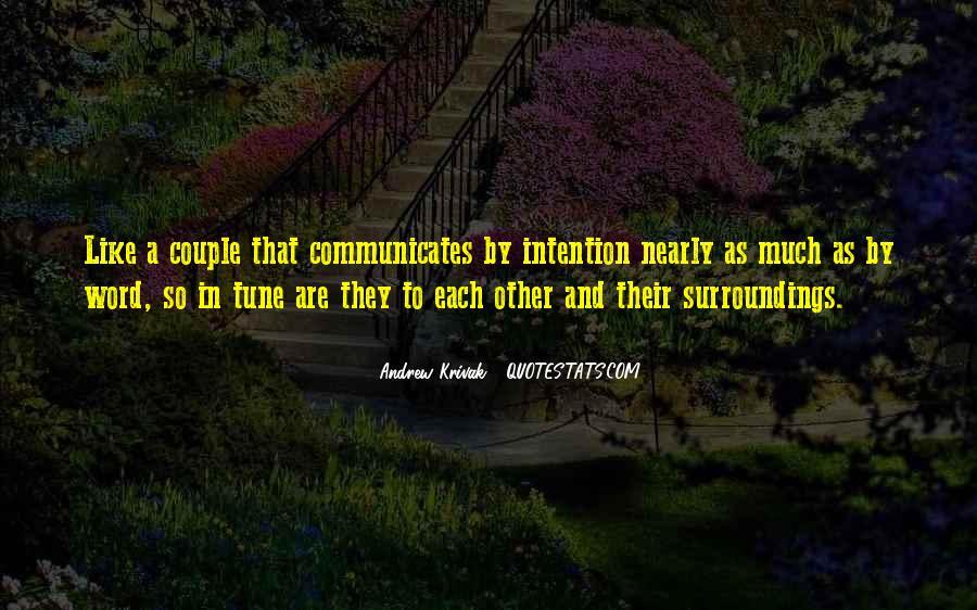 Communicates Quotes #827724