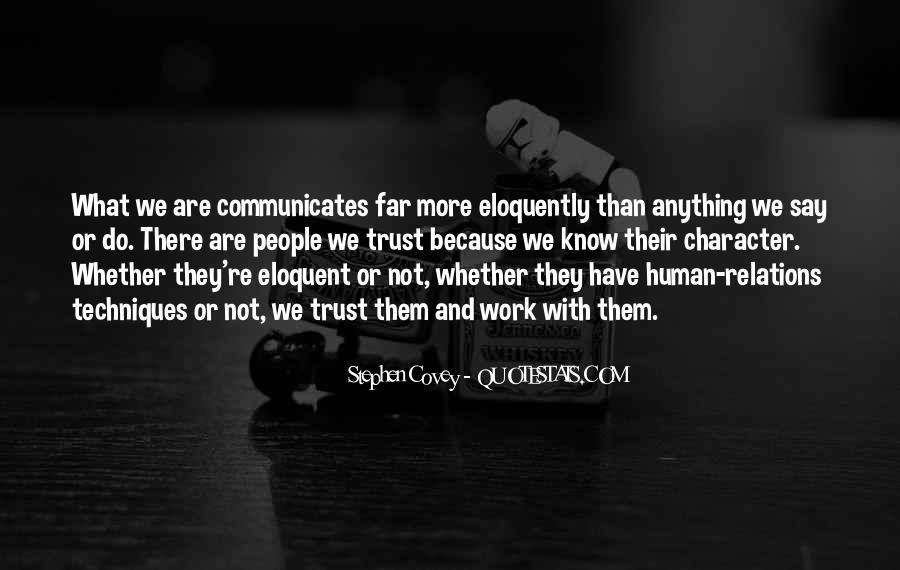 Communicates Quotes #832163