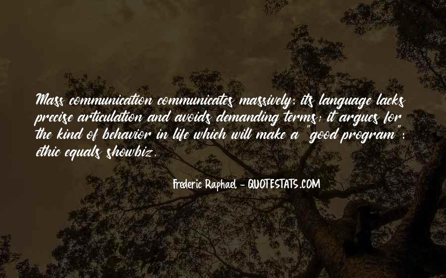 Communicates Quotes #848689