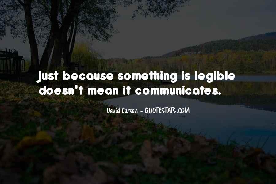 Communicates Quotes #862079