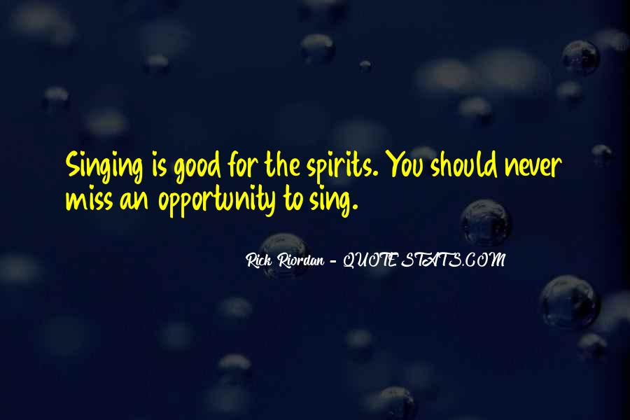 Quotes About Not Good In Singing #195813