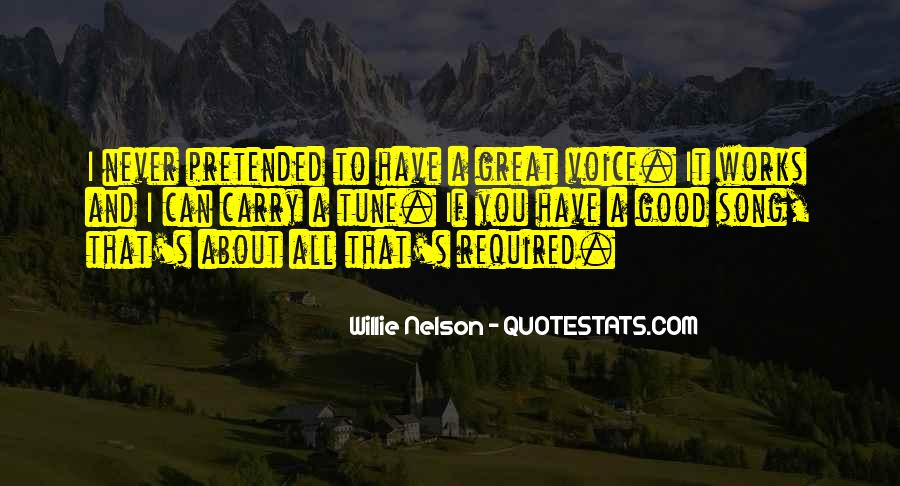 Quotes About Not Good In Singing #270487