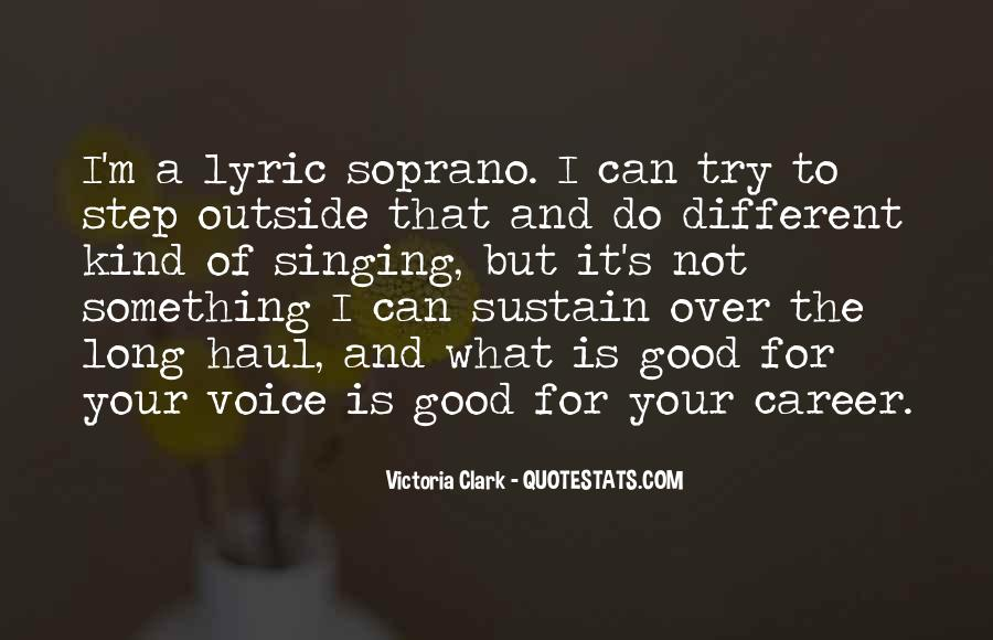 Quotes About Not Good In Singing #325398