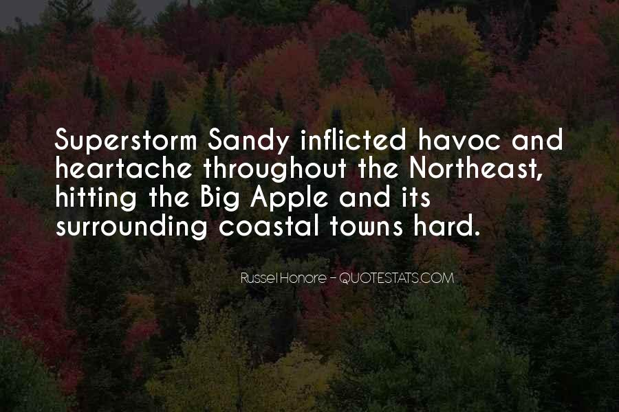 Quotes About Superstorm Sandy #1155882