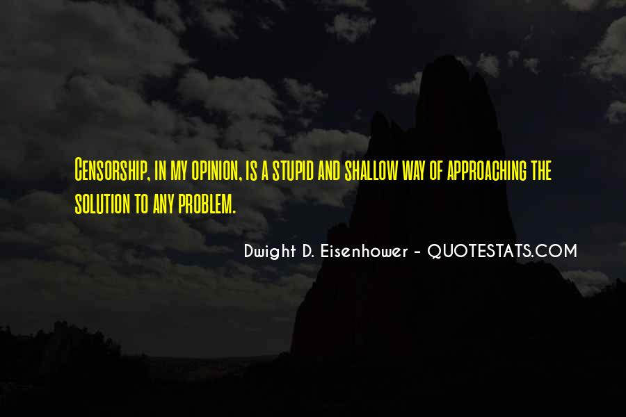 Quotes About Eisenhower #164847