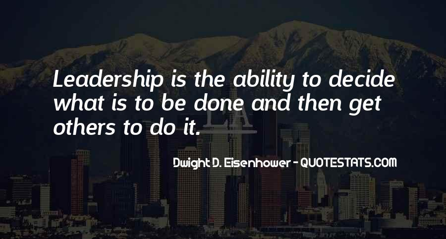 Quotes About Eisenhower #208578