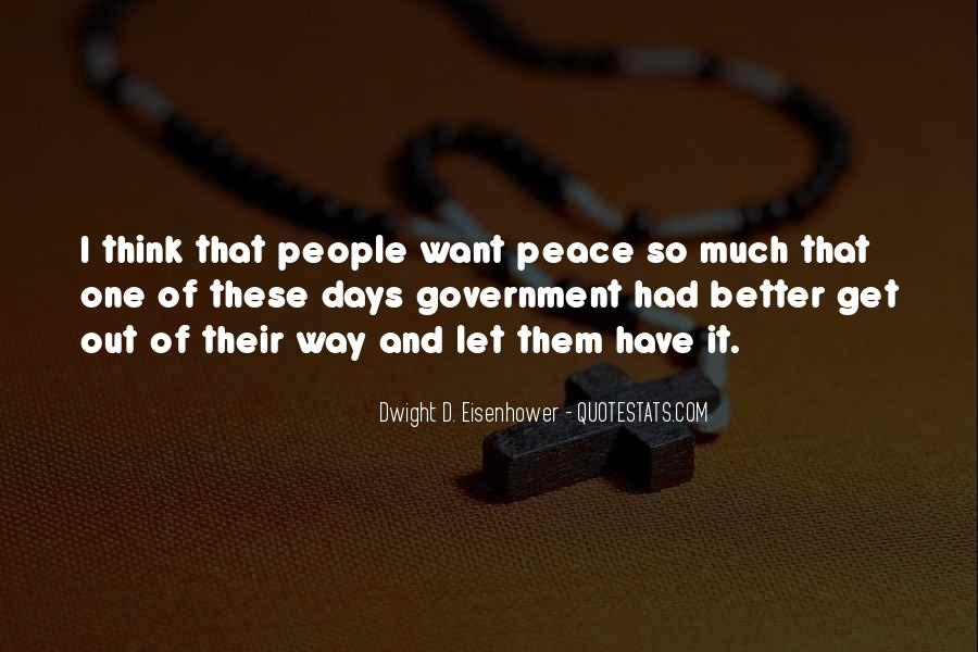Quotes About Eisenhower #283142
