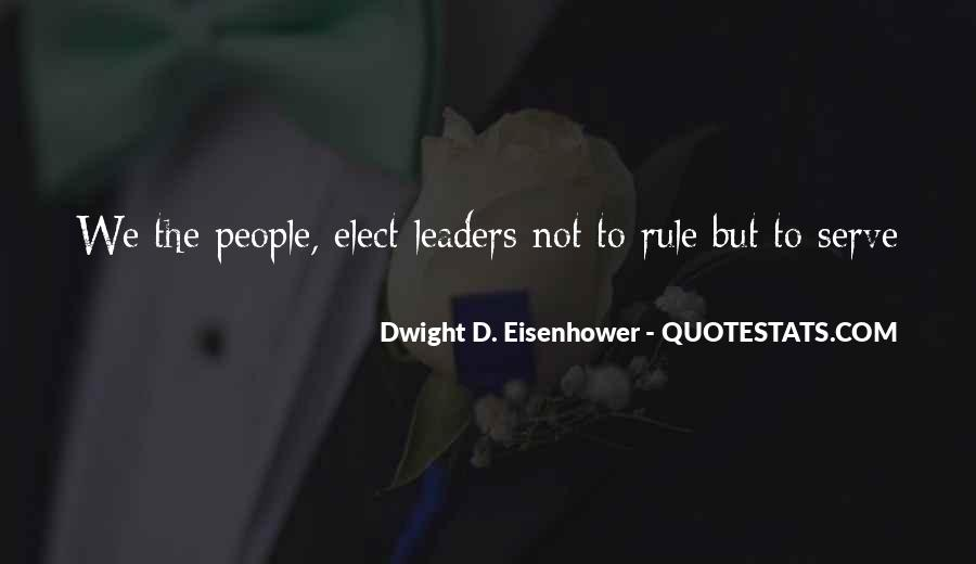 Quotes About Eisenhower #82700