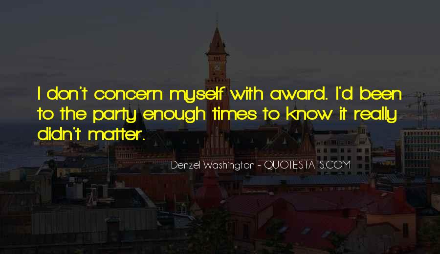 Concern'd Quotes #1707965