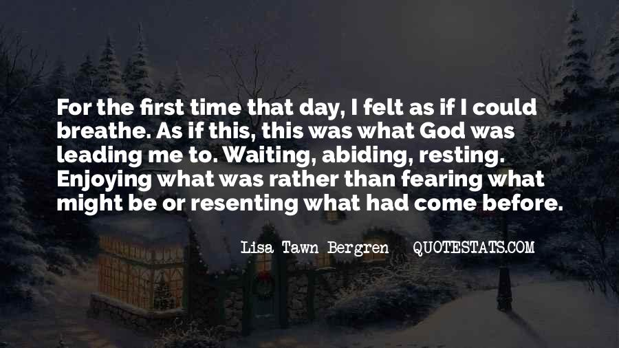 Quotes About Waiting In God's Time #1381965
