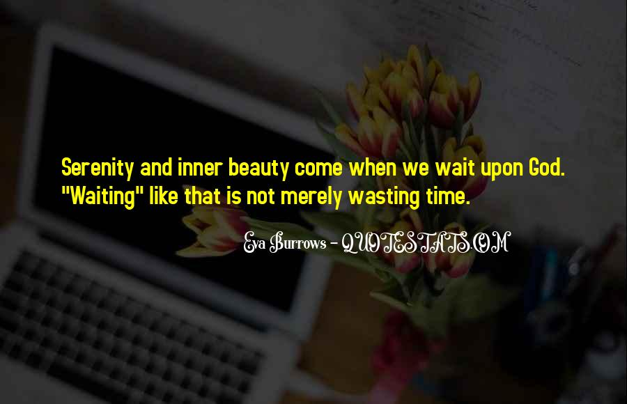 Quotes About Waiting In God's Time #544422