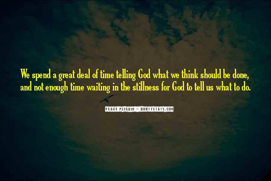 Quotes About Waiting In God's Time #693850
