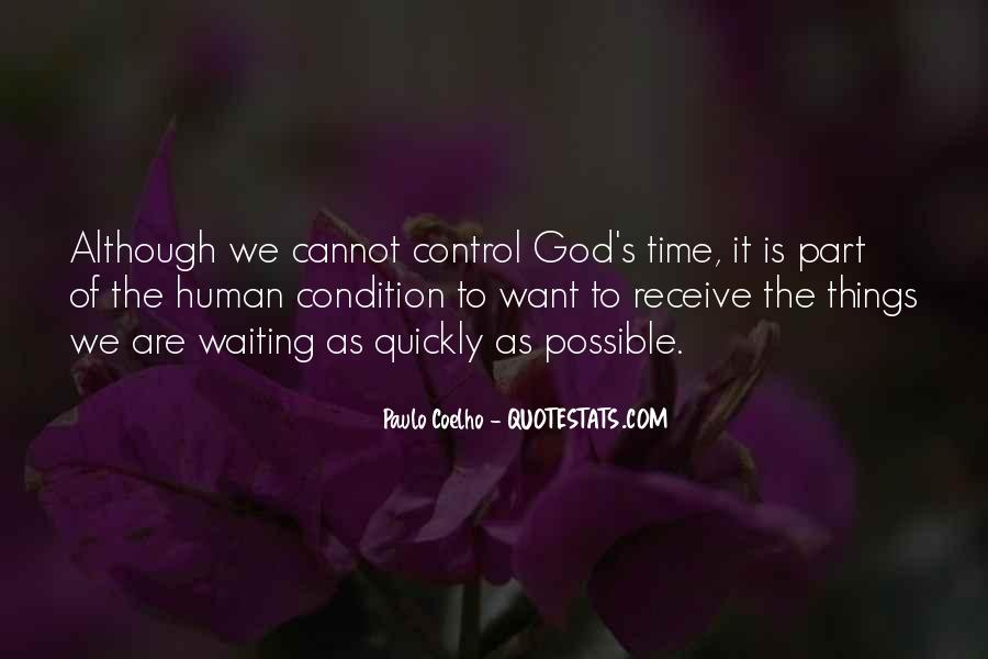 Quotes About Waiting In God's Time #873069