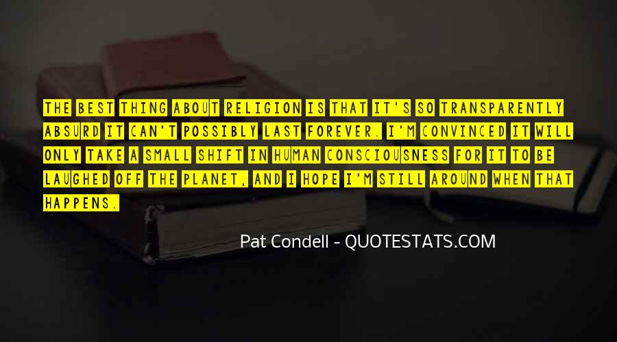 Condell Quotes #894114