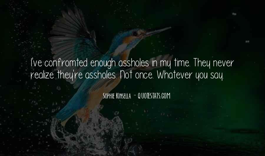 Confromted Quotes #100698