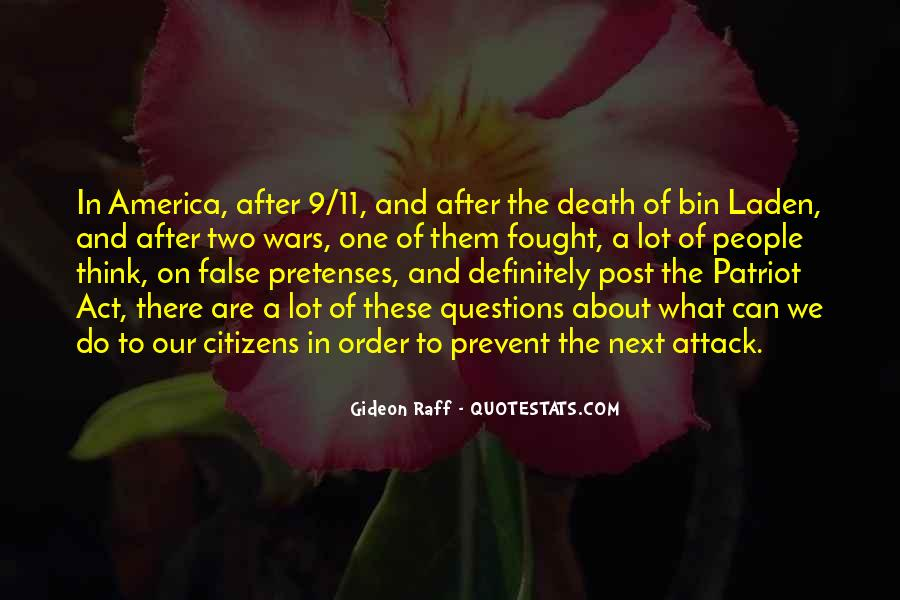 Quotes About 9/11 Attack #1579658